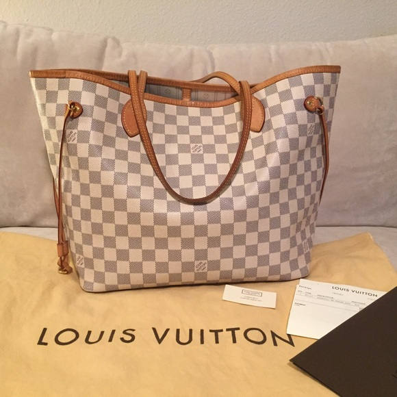Neverfull Damier Azur Louis Vuitton