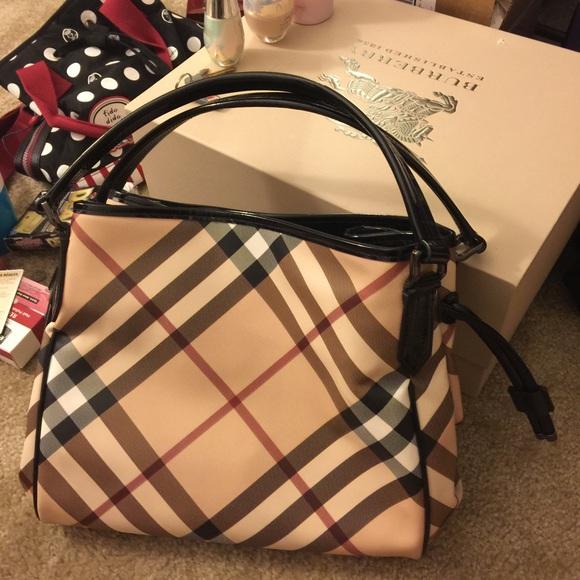 8f93a687a06b Burberry Handbags - Used Burberry Handbag
