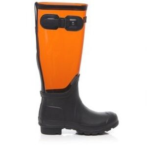 Fun clear hunter boots!