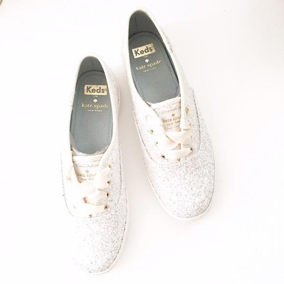 8d9ed6680d19 Kate Spade Keds Glitter Sneakers