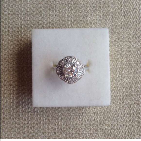 100 Off Jewelry 0 75ct Queen Mary Engagement Ring From Ojdc S Closet On Poshmark