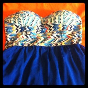 Zinga Dresses & Skirts - Strapless dress