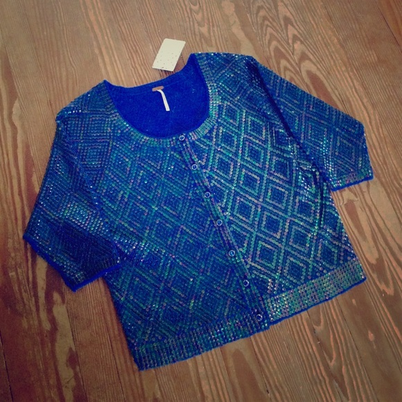 80% off Free People Sweaters - SUNDAY SALE Free People Sequin ...