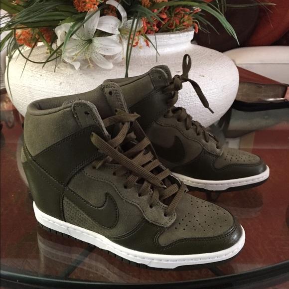 Zapatos Nike Dunk Cargo Sky Hi Indispensable En Cargo Dunk Khaki Poshmark 902168