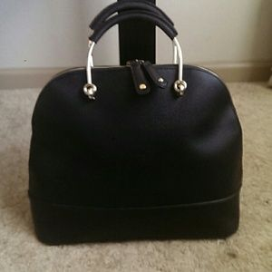JustFab Handbags - Black Louis Vuitton styled bag.
