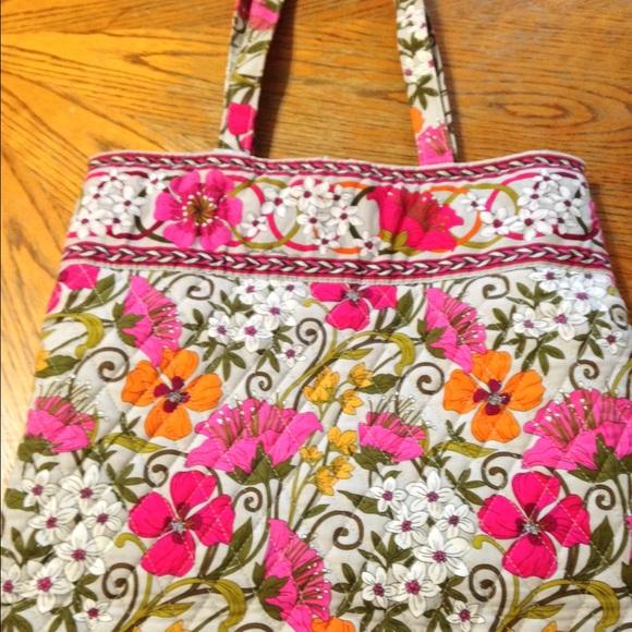 76 Off Vera Bradley Handbags Vera Bradley Tea Garden