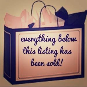 Everything below is sold 🎀💕