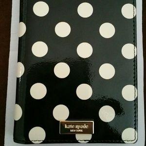 d70b231156d6 kate spade Accessories - Kate spade passport holder polka dot
