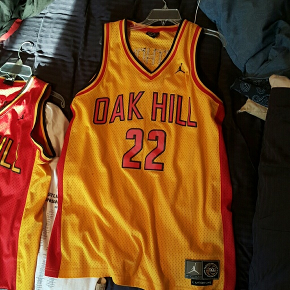 best website e862c 5dda6 Carmelo Anthony Oak Hill Jordan Throwback Jersey