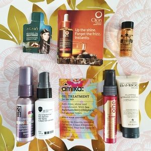 Ojon Accessories - Lot of Hair Care Samples - No. 4, Amika, Ojon, etc