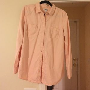 Old Navy - Old navy peach button down shirt from Elizabeth's ...