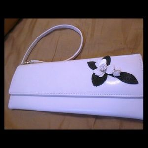 Clutches & Wallets - Stylish white wristlet clutch