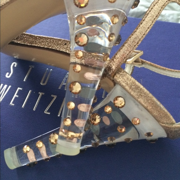 Stuart Weitzman Shoes - Stuart Weitzman Glittony glitter heels