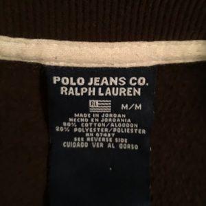 Brown Ralph Lauren jacket. Size medium.