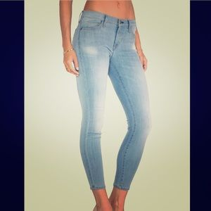 Current/Elliott The Stiletto Skinny Jeans Size 24