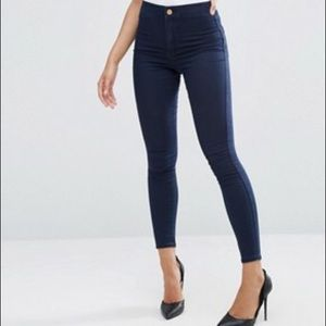 Rich & Skinny Pants - Rich and skinny dark blue skinny jeans