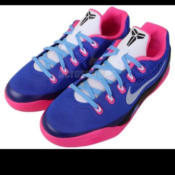 13d7f9ef54d3 Pink blue and black Kobe Bryant s.