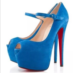 $1396 CHRISTIAN LOUBOUTIN LADY HIGHNESS 160 38