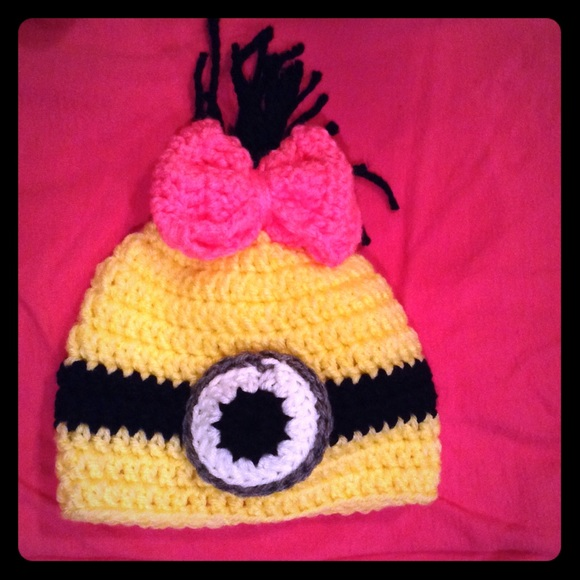 b35057950a2 Handmade Other - Female Minion toddler Beanie
