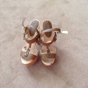Charlotte Russe Shoes - Wood heels