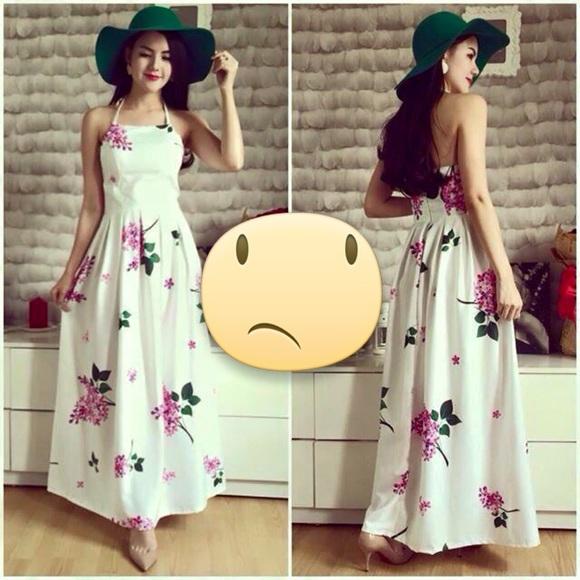 American Vintage Dresses Korean Long Dress Poshmark