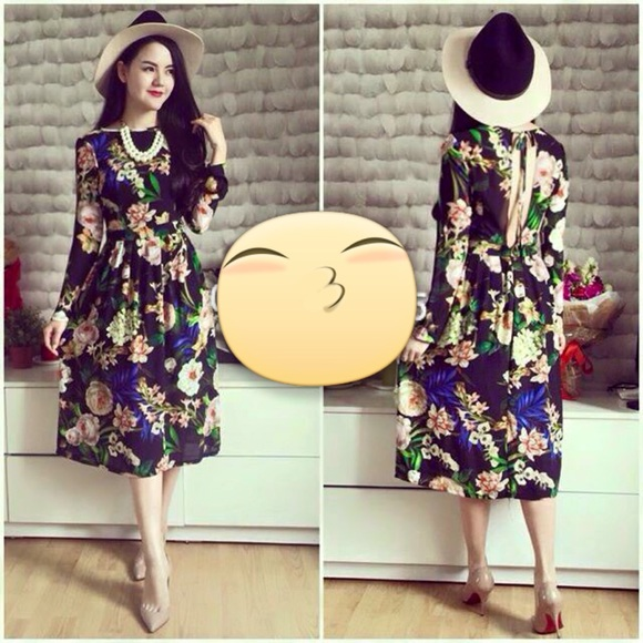 Dresses Korean Vintage Dress Poshmark