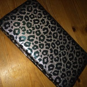 New Leopard clutch wallet.