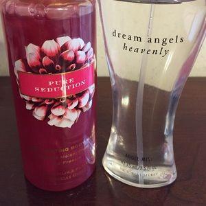 Victoria Secret body wash and perfume!