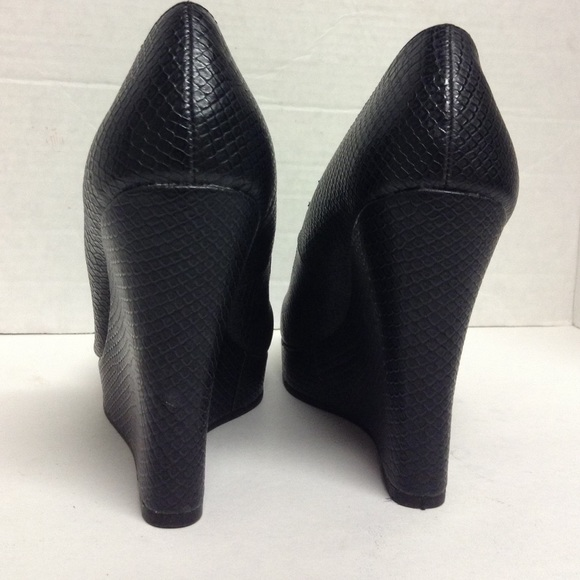 75 fergie shoes fergalicious black wedges from