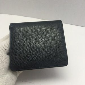 Louis Vuitton Vintage Green Epi Wallet