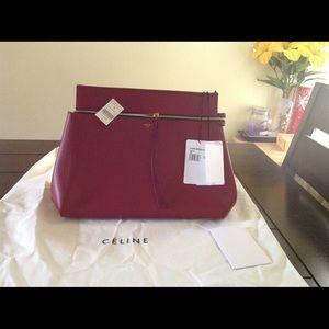 47% off Celine Handbags - Celine Edge Bag-Coral (Orange)- New With ...