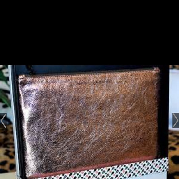 464470930d2 Marc Jacobs for Target Rose Gold zip makeup pouch