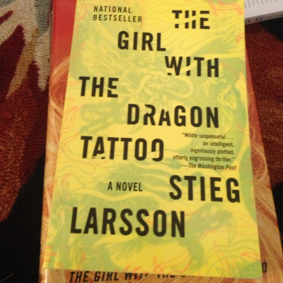 40 off other the girl with the dragon tattoo series