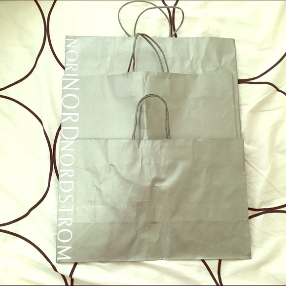 Nordstrom Shopping Bags Set Of 3