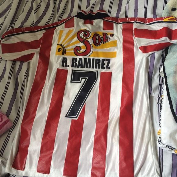 newest ecd46 b6967 Old-school Chivas soccer jersey