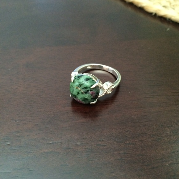 """42% Off Jewelry  """"two Face"""" Genuine Ruby Zoisite Ring. Massive Rings. Kid Name Rings. Welded Rings. Coupleengagement Wedding Rings. Rollover Engagement Rings. Loonie Rings. Diamond Square Engagement Rings. Bluestone Engagement Rings"""