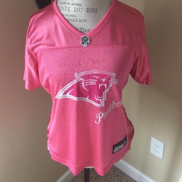 Pink Cam Newton Carolina Panthers jersey large. M 554e698701985e09bd006ae5 cf95f21eb7