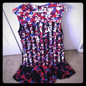 Peter Pilotto for Target size L red dress