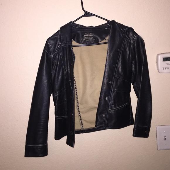 Arizona Jean Company Jackets Amp Coats Black Leather Kids