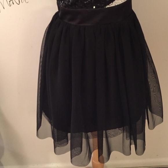 As U Wish Dresses - Dress! 👗1 shoulder sequins top flirty bottom 😍