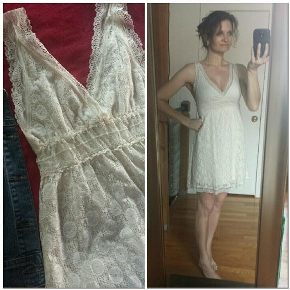 Ivory Cream Lace Dresses