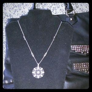 White Sapphire 925 Silver Pendant