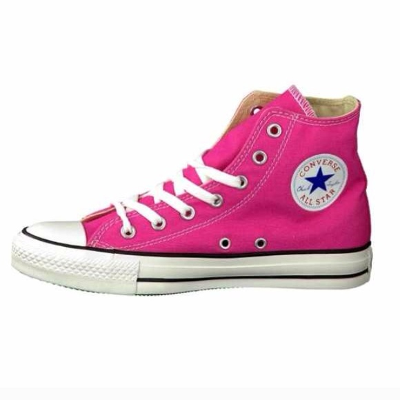30778a7c6d58 Converse Shoes - Hot Pink Converse Chuck Taylor High Tops