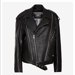 Barbara Bui Jackets & Blazers - Barbara Bui brand new black leather jacket