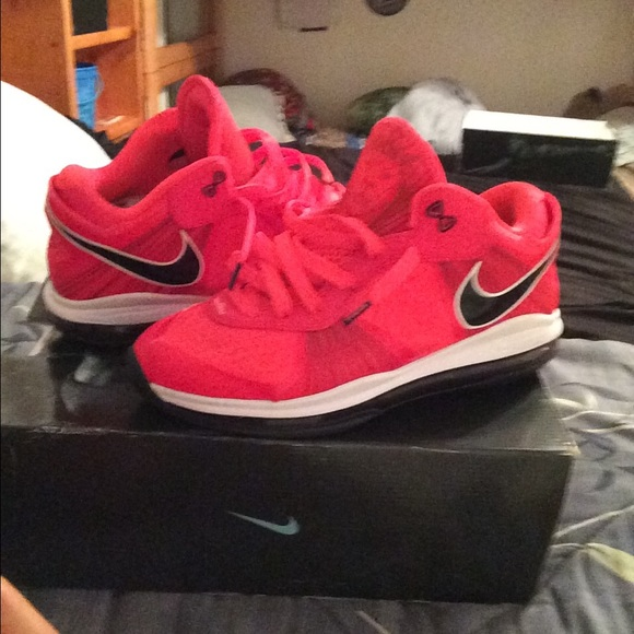 Nike Shoes | Lebron 8 V2 Low Solar Red