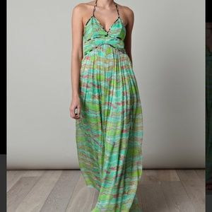 Matthew Williamson  Dresses & Skirts - 🆕LISTING! MATTHEW WILLIAMSON Escape maxi halter