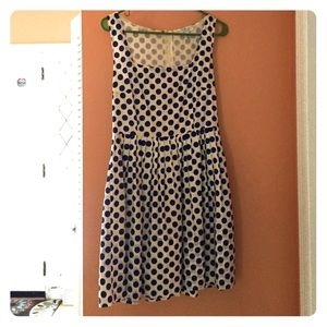 Delia's polka dotted dress