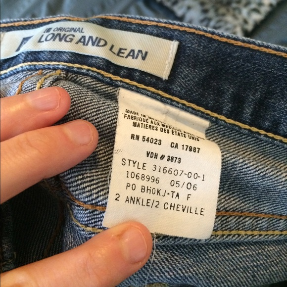 """GAP Jeans - Women's GAP Jeans Long and Lean Flare 2A 30"""""""