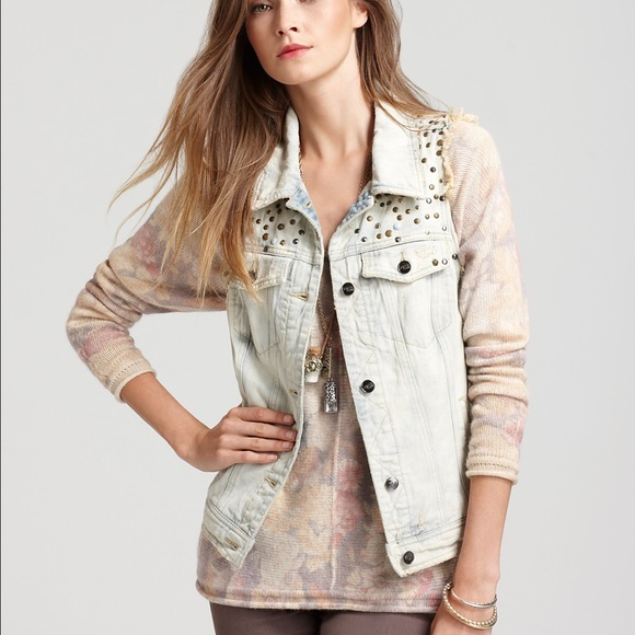Free People Jackets & Blazers - Free People studded vest