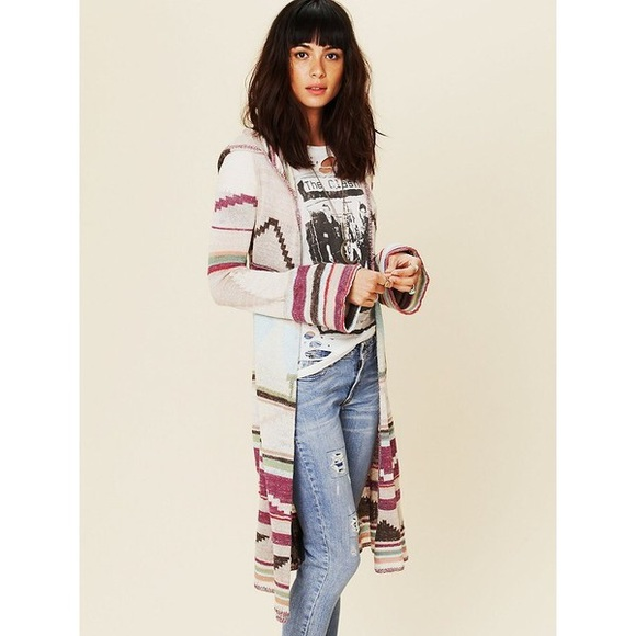 Free People Sweaters - Free People hooded sweater jacket